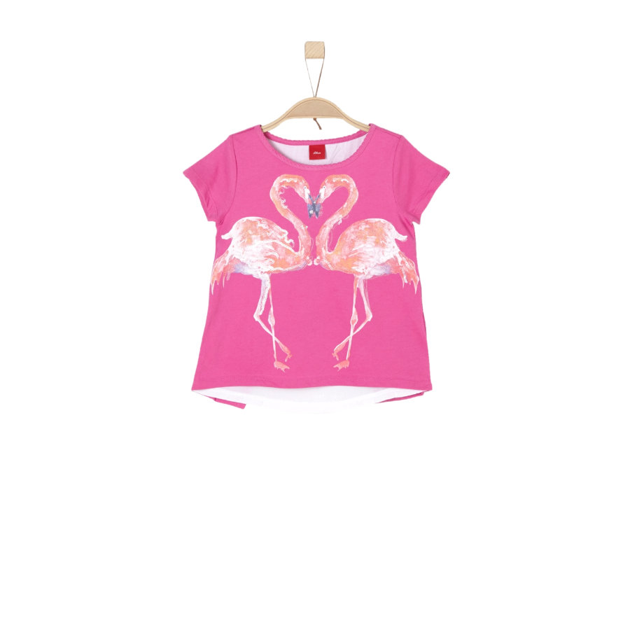 s.Oliver Girl s T-Shirt roze