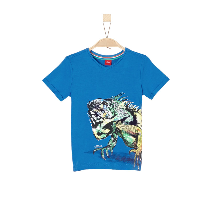 s.Oliver Boys T-Shirt azul oscuro