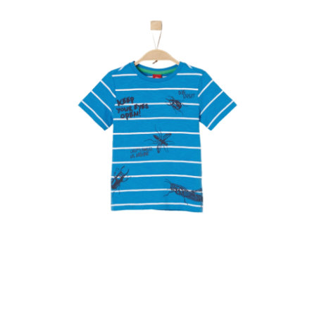 s.Oliver T-Shirt light blue stripes