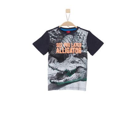 s.Oliver Boys T-Shirt bleu foncé