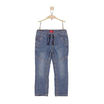 s.Oliver Boys Jeans blue denim non stretch regular