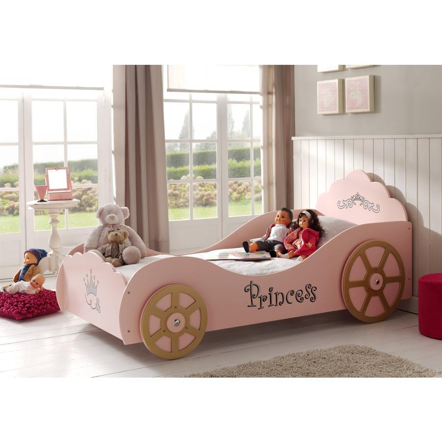 VIPACK postel kočár růžová