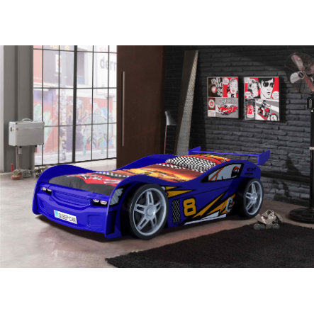 VIPACK Autobett Night Racer blau
