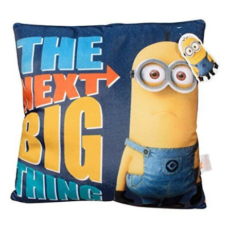 P:OS Coussin Les Minions, The next big thing, 35 x 35 cm