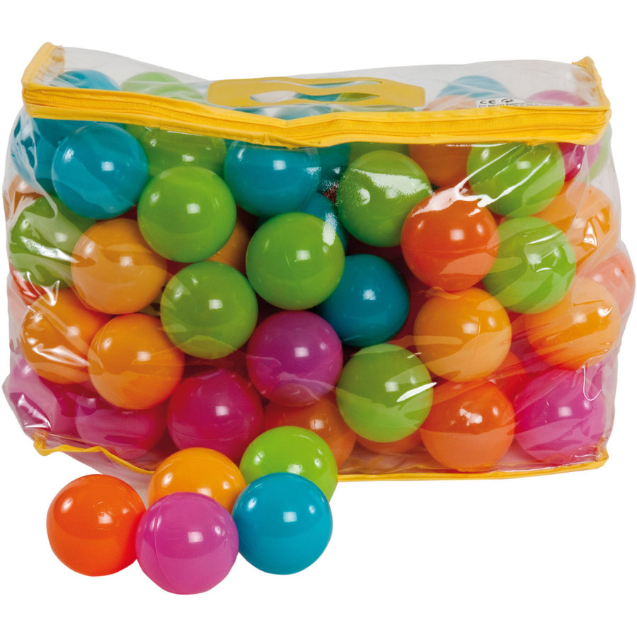 bieco míčky v pastelových barvách 100 ks