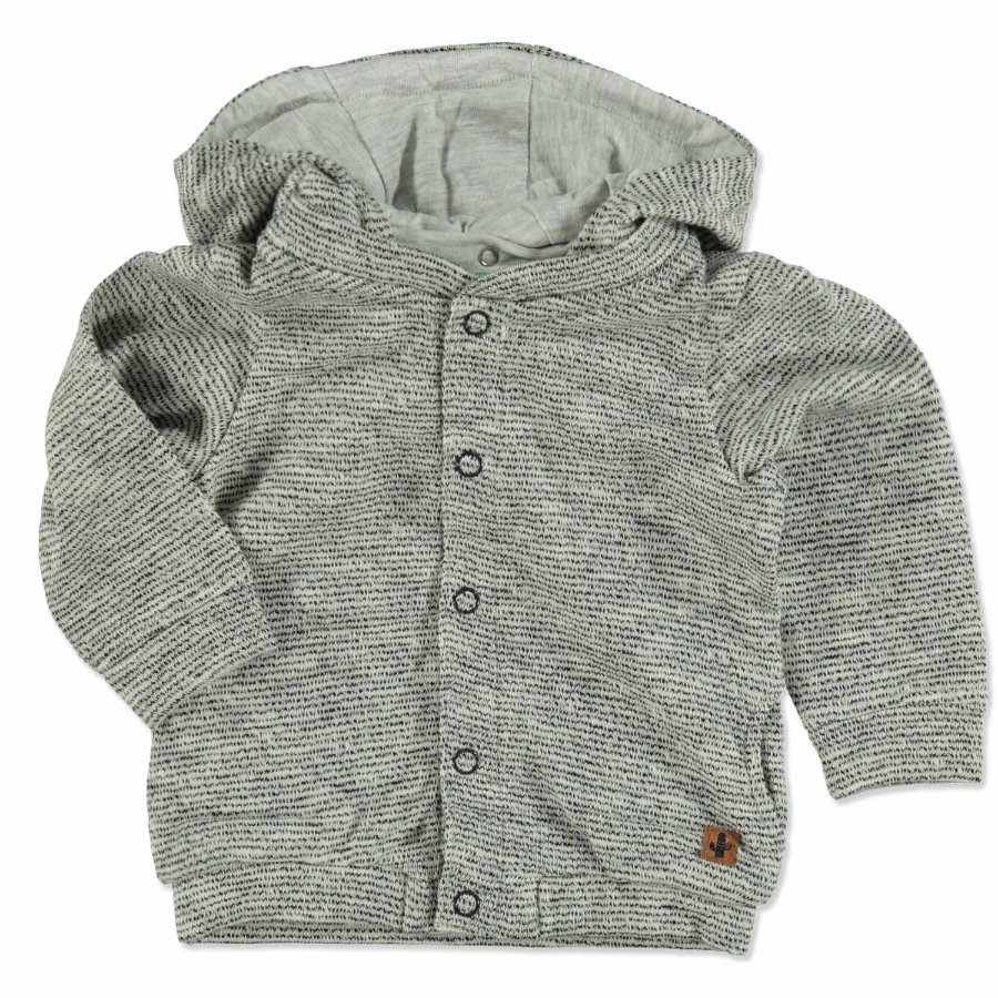 TOM TAILOR Boys Sweatjacke grau