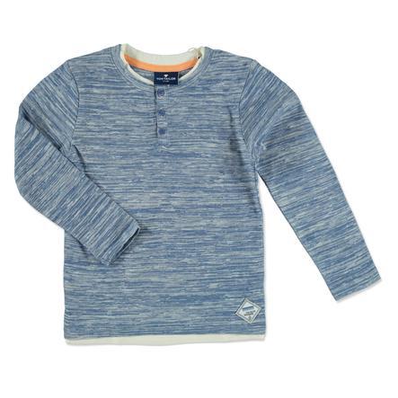 TOM TAILOR Boys overhemd met lange mouwen midden in de zomer blauw