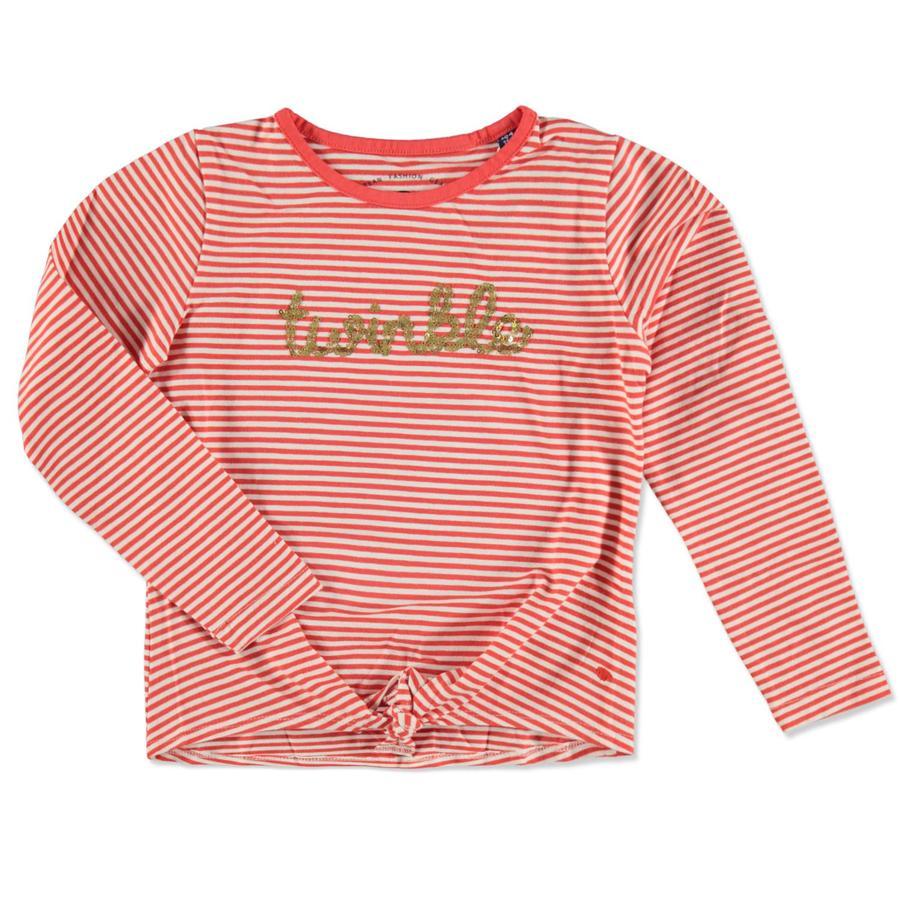 TOM TAILOR Långärmad tröja plain red