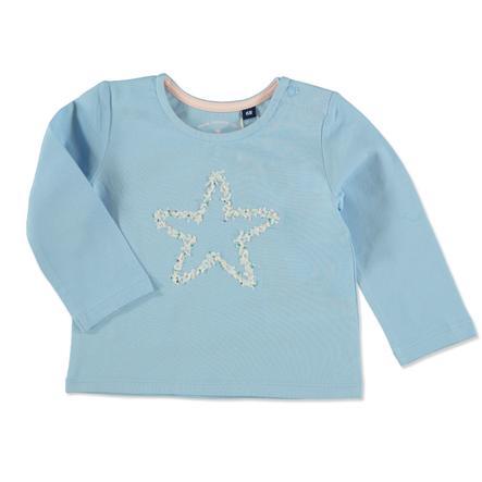 TOM TAILOR Långärmad tröja Washed Out Middle Blue