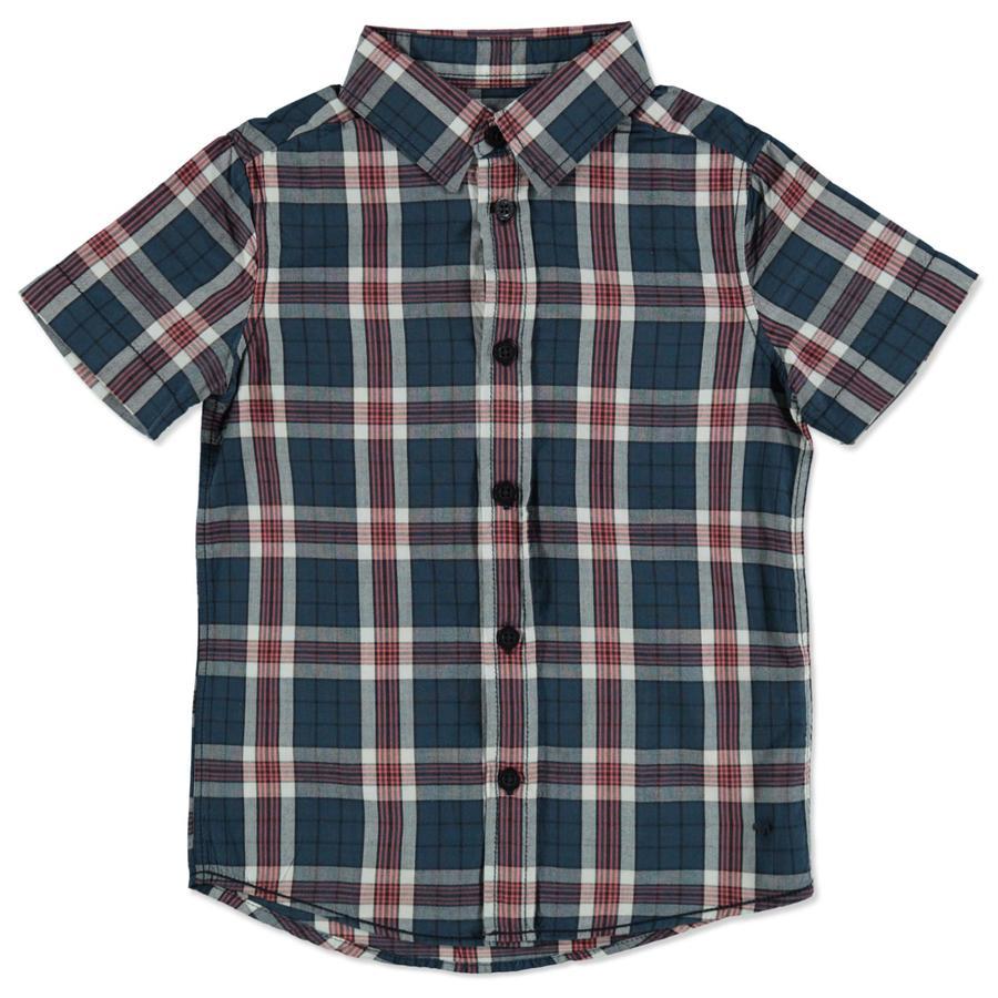 TOM TAILOR Boys koszula w kratę w kolorze niebieskim