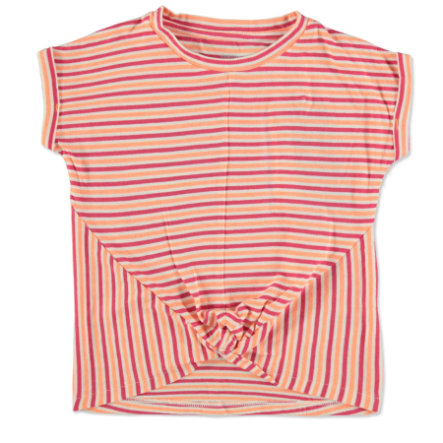 TOM TAILOR Girls T-Shirt Ringel orange
