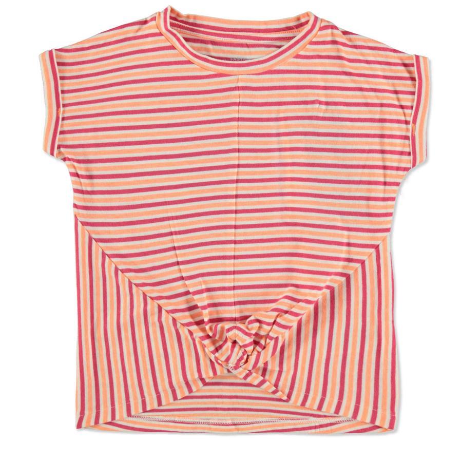 TOM TAILOR Girl s T-Shirt strepen oranje