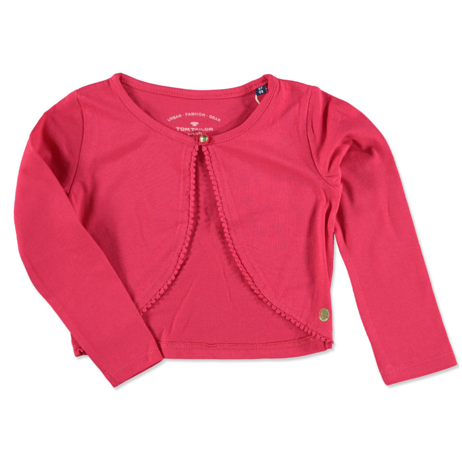 TOM TAILOR Girls Bolero pink