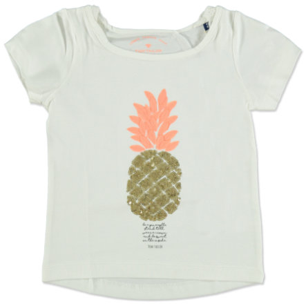 TOM TAILOR Girl s Blanco T-Shirt piña