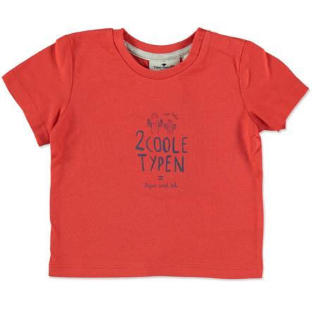 TOM TAILOR Boys T-Shirt mocna czerwień