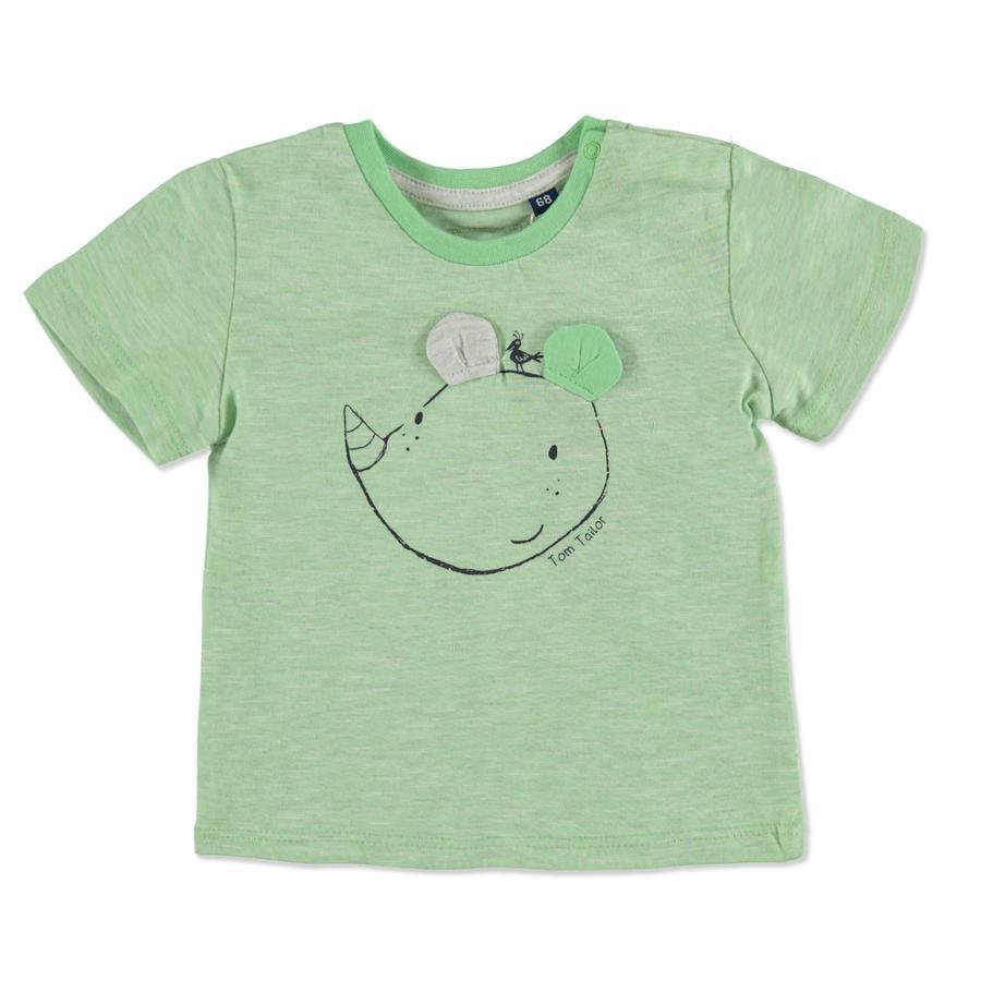 TOM TAILOR Boys T-Shirt verde culm.