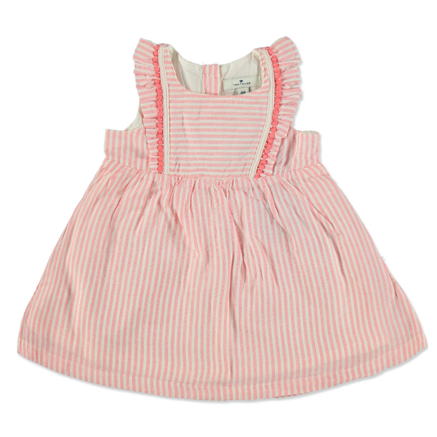 TOM TAILOR Girls Kleid  flashy coral