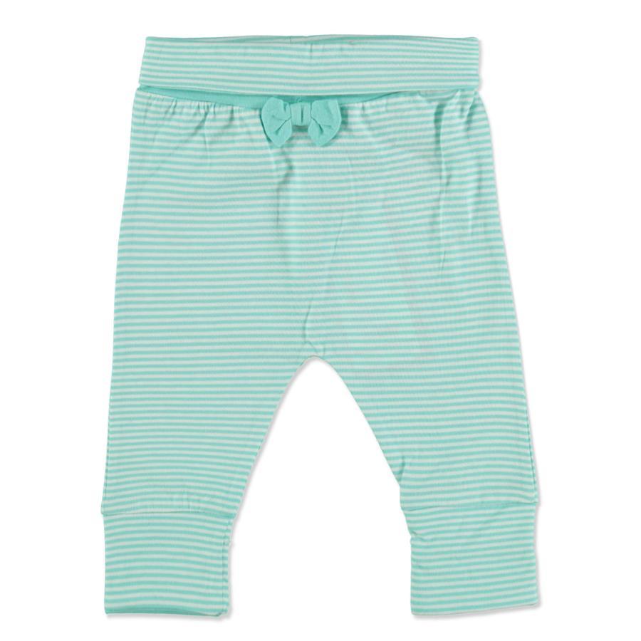 TOM TAILOR Girl s Sweatpants w paski z tropikalnego, świeżego błękitu