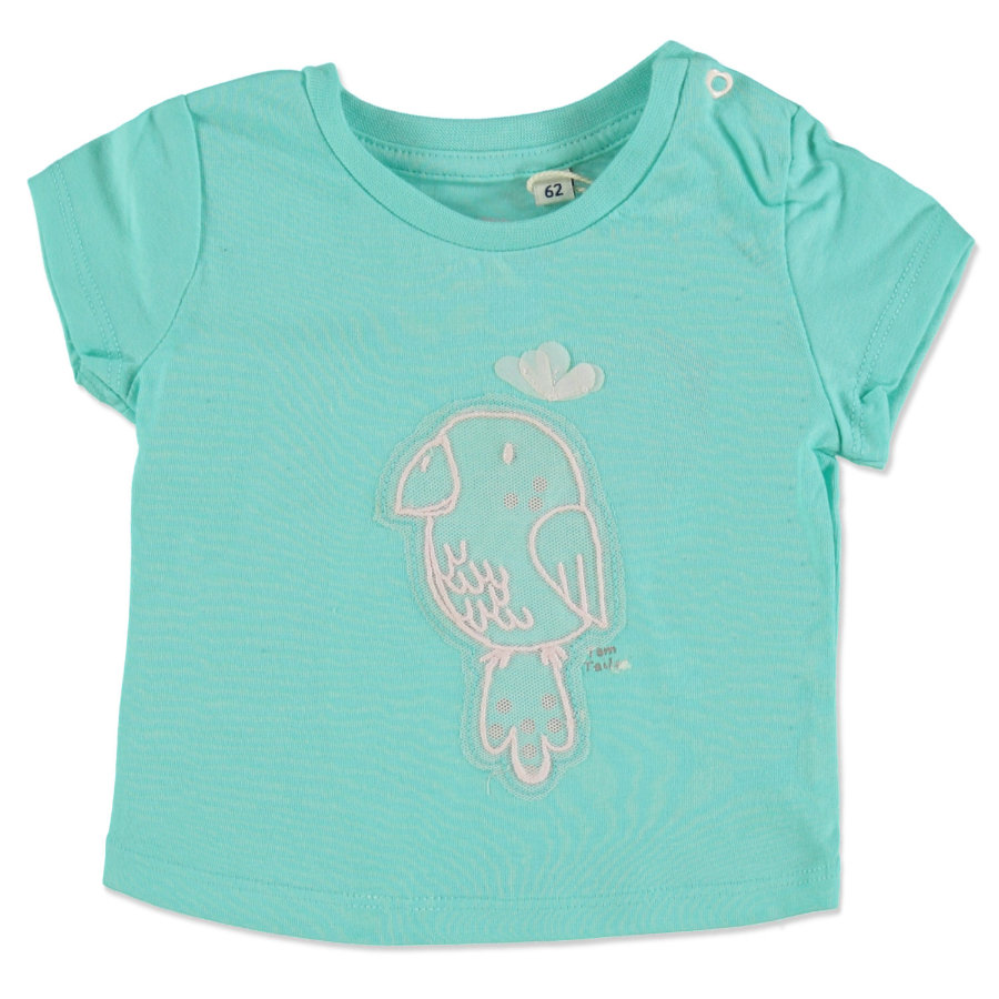 TOM TAILOR Girl s T-Shirt trpoical bleu