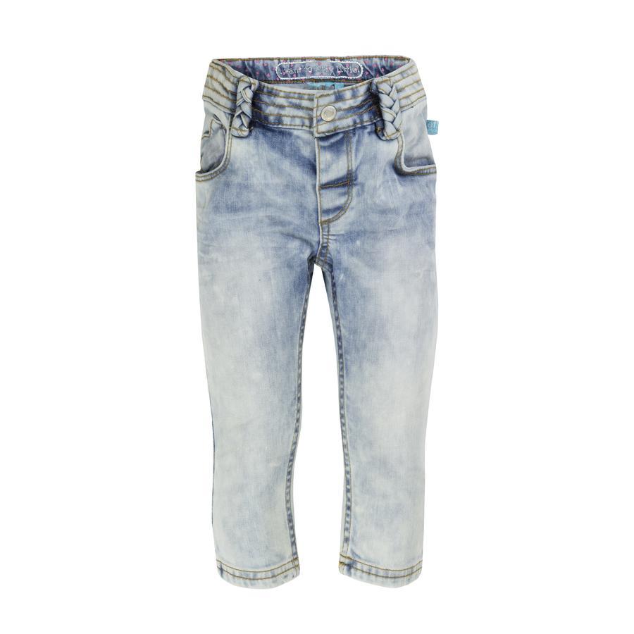 uciekła! Girl S jeans blue denim.