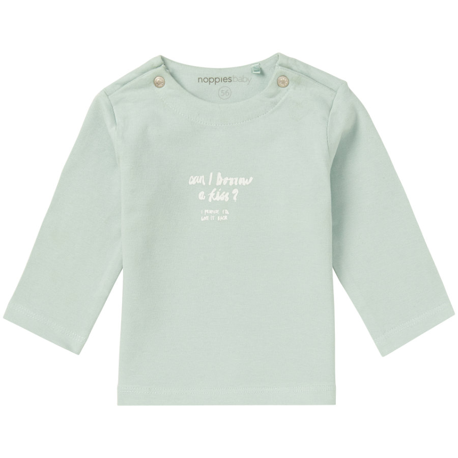 noppies Langarmshirt Goulds Grey Mint