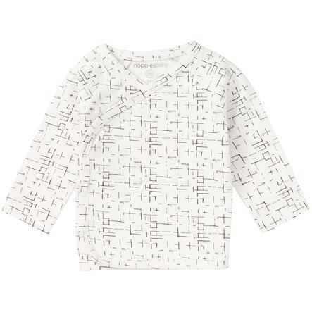 noppies Långärmad skjorta Grayslake Optic White