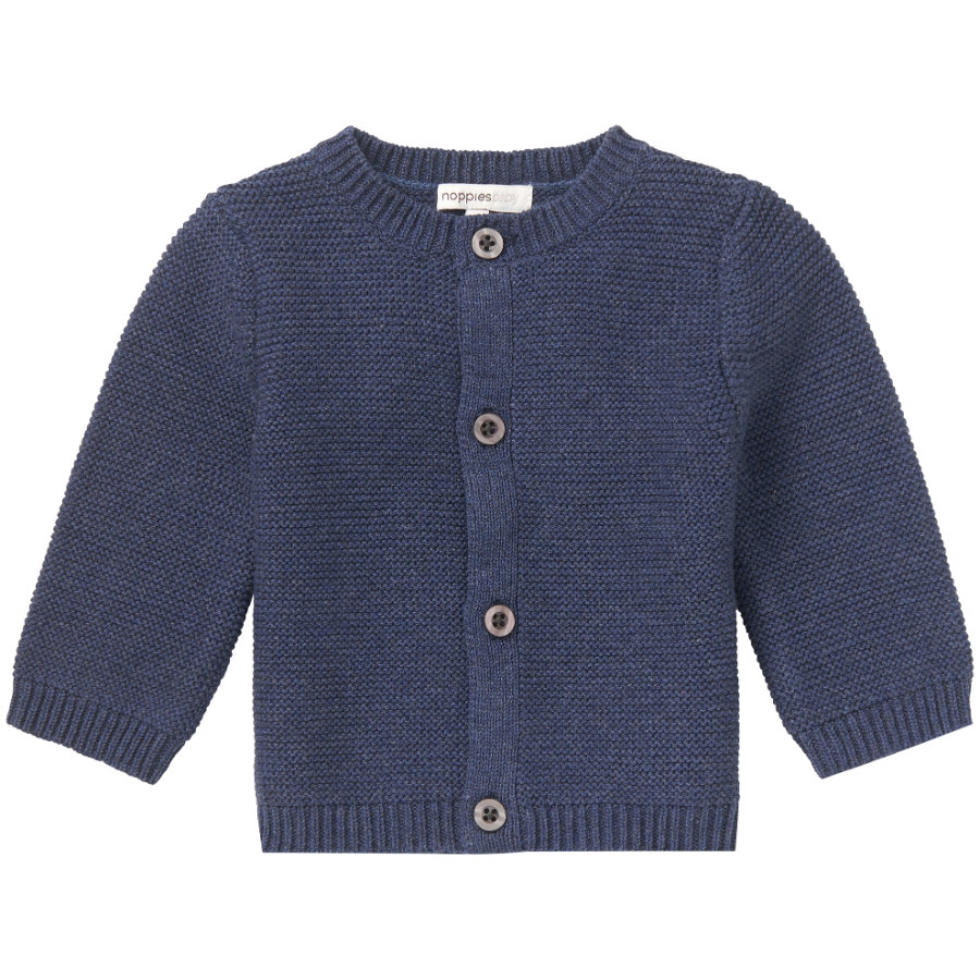 noppies Cardigan Garner Indigo Blue Melange