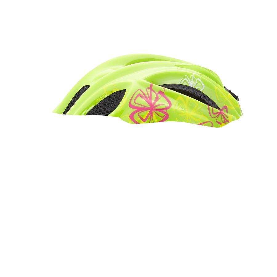 KED Casque vélo enfant Meggy Green Flower