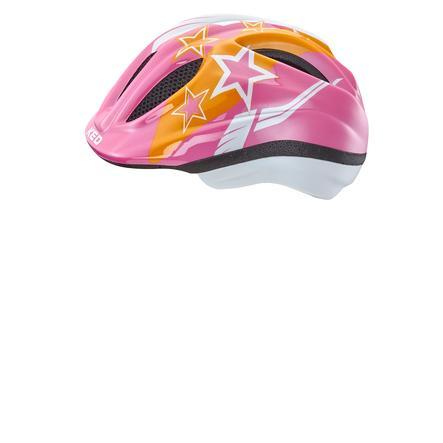 KED Casque vélo enfant Meggy Pink Stars