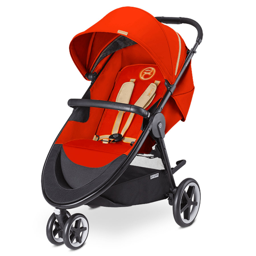 CYBEX GOLD Passeggino Buggy Agis M-Air 3 3 Autumn Gold-burnt red, colore rosso