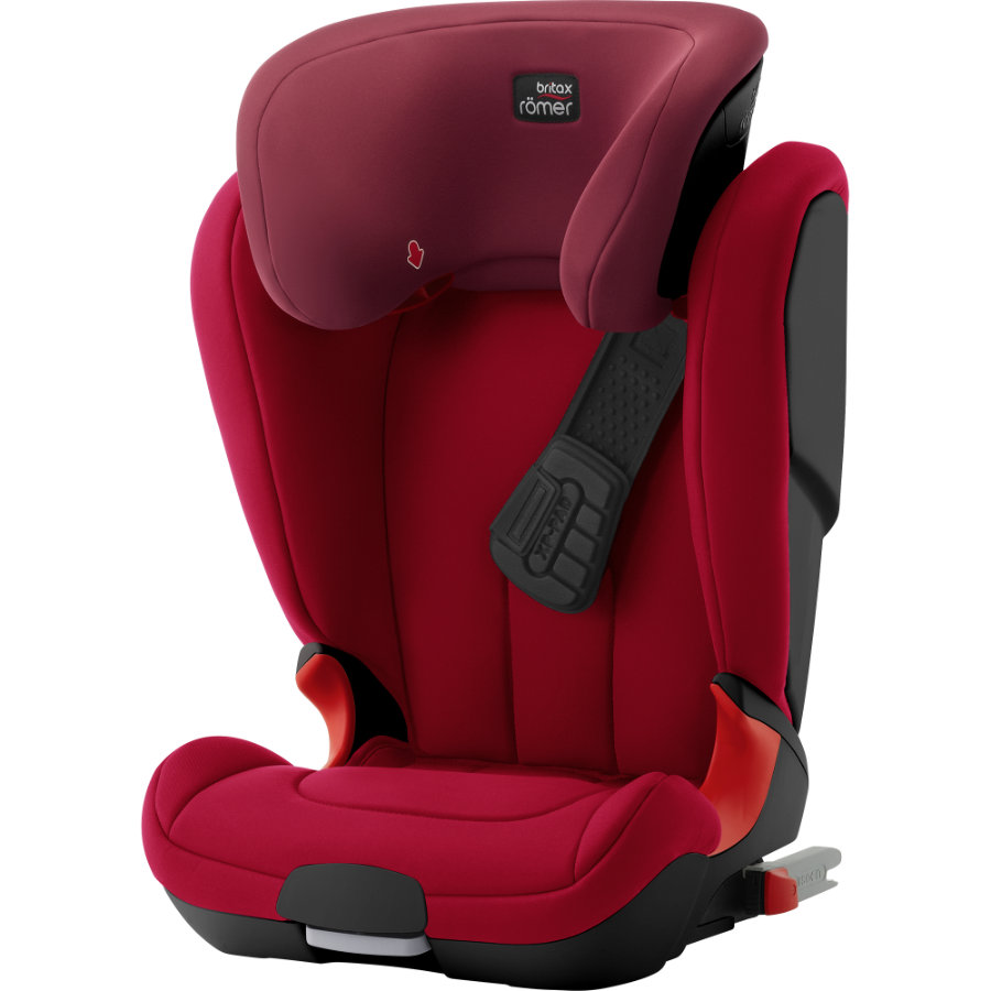 Britax Römer Autostoel Kidfix XP, Black Series Flame Red