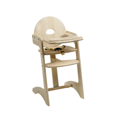 GEUTHER Highchair FILOU Solid Beech Wood Natural