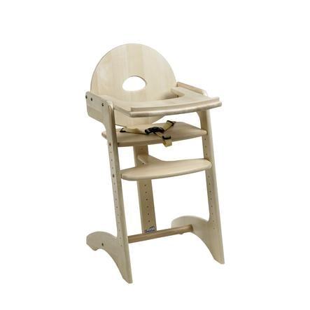 Geuther Jídelní židlička Filou přírodní