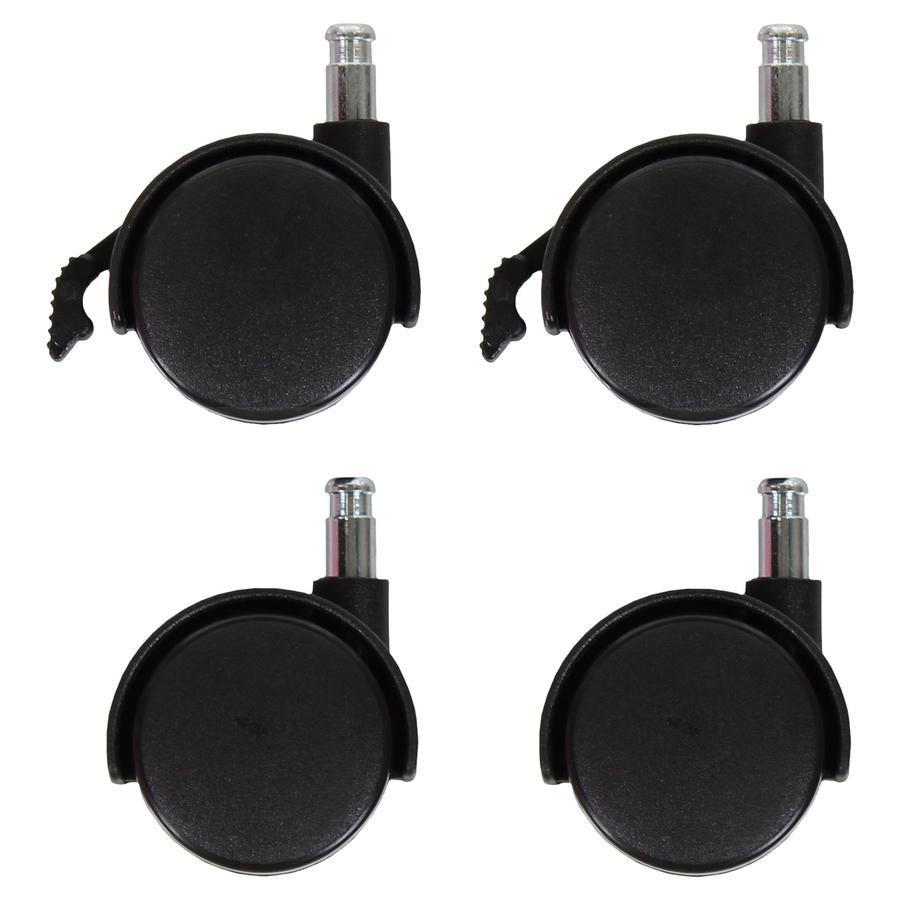 dreamgood Kit roulettes de lit cododo noir