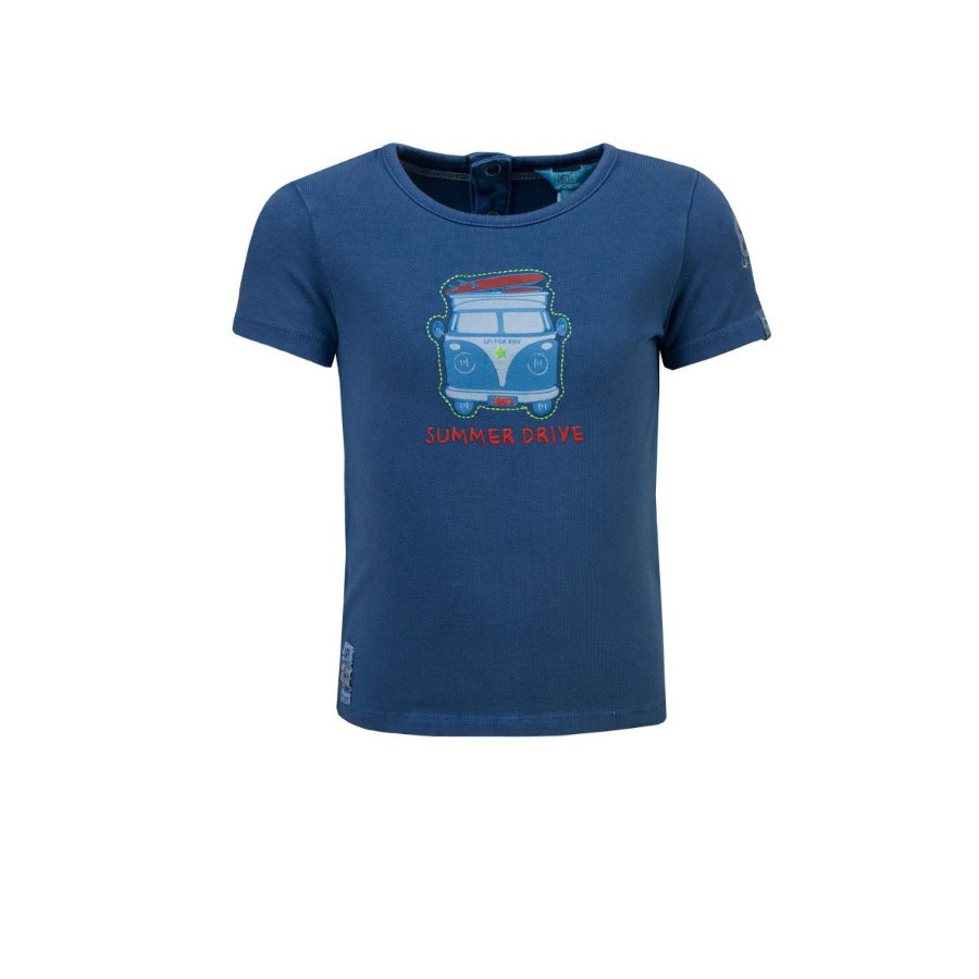 uciekł! Boys T-Shirt Niebieski!