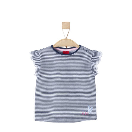 s.Oliver Girls T-Shirt dark blue stripes