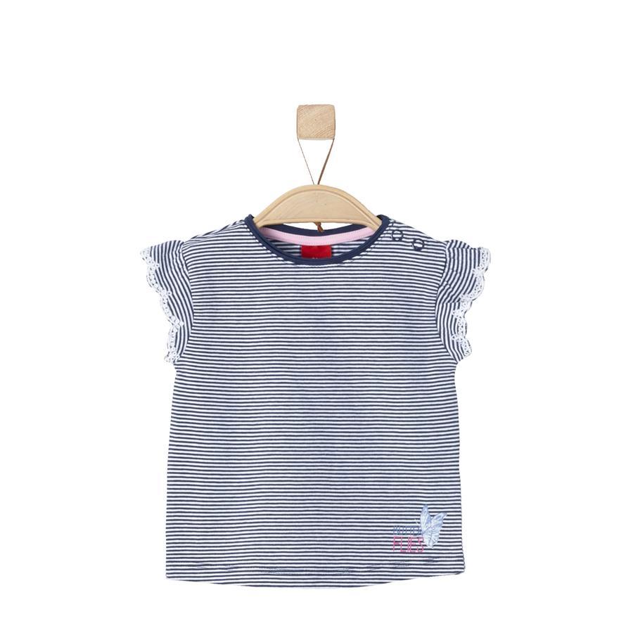 s.Oliver T-Shirt dark blue stripes