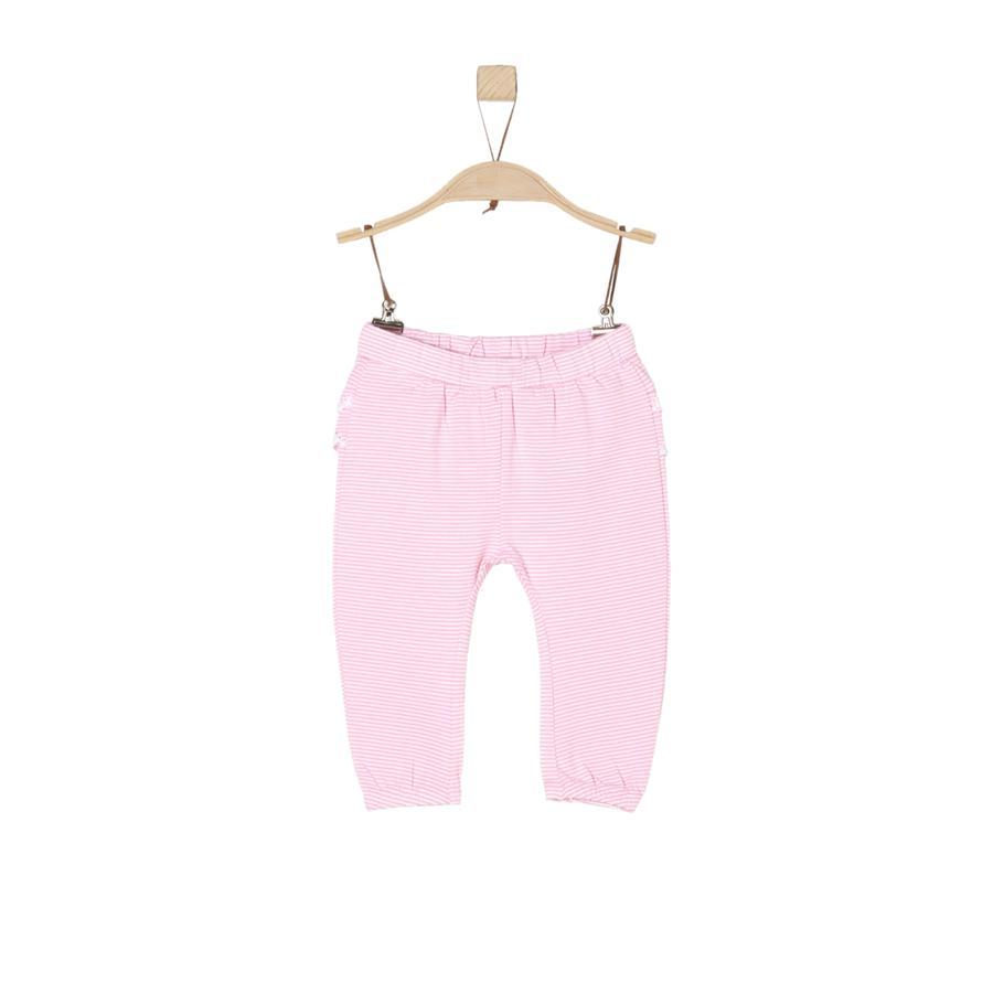 s.Oliver Girl s pantalon lichtroze strepen