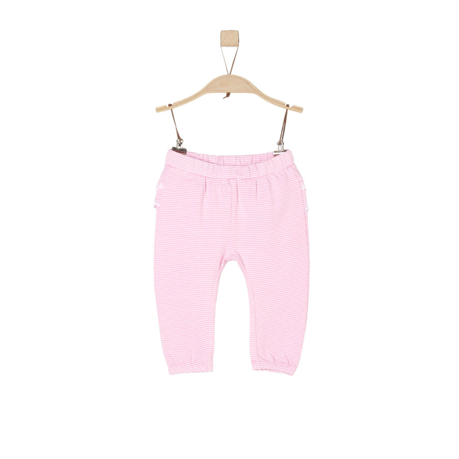 s.Oliver Girl s pantalon rayures rose pâle