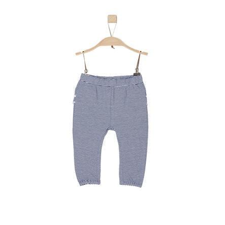 s.Oliver Girl s pantalon rayures bleu foncé