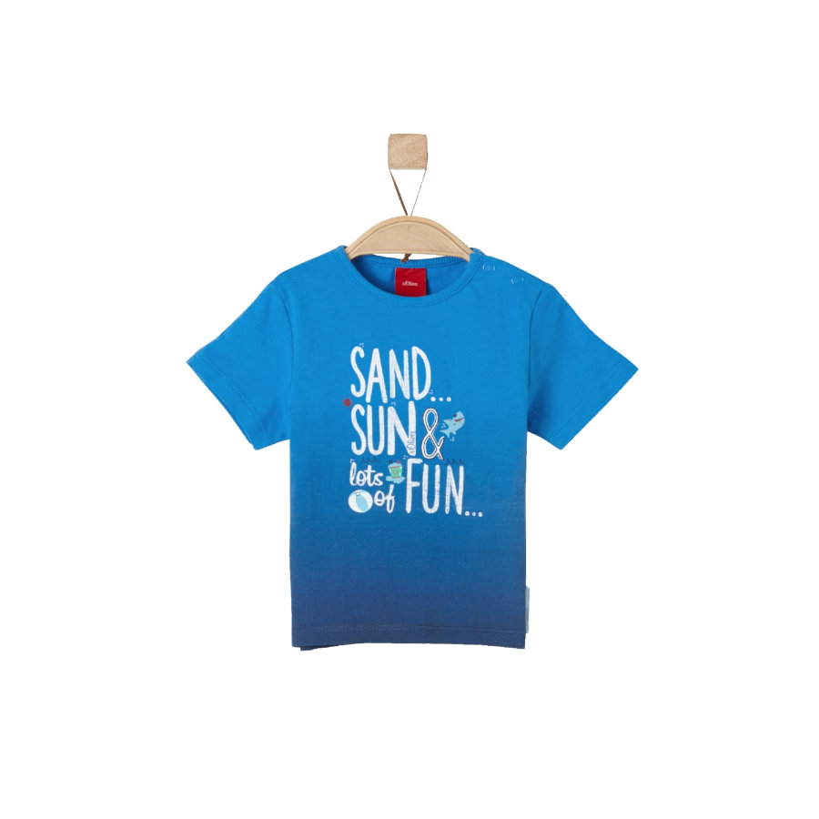 s.Oliver Boys T-Shirt blue