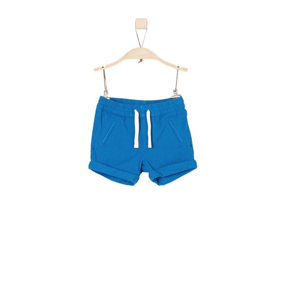 s.Oliver Boys Sweatershort blauwe strepen