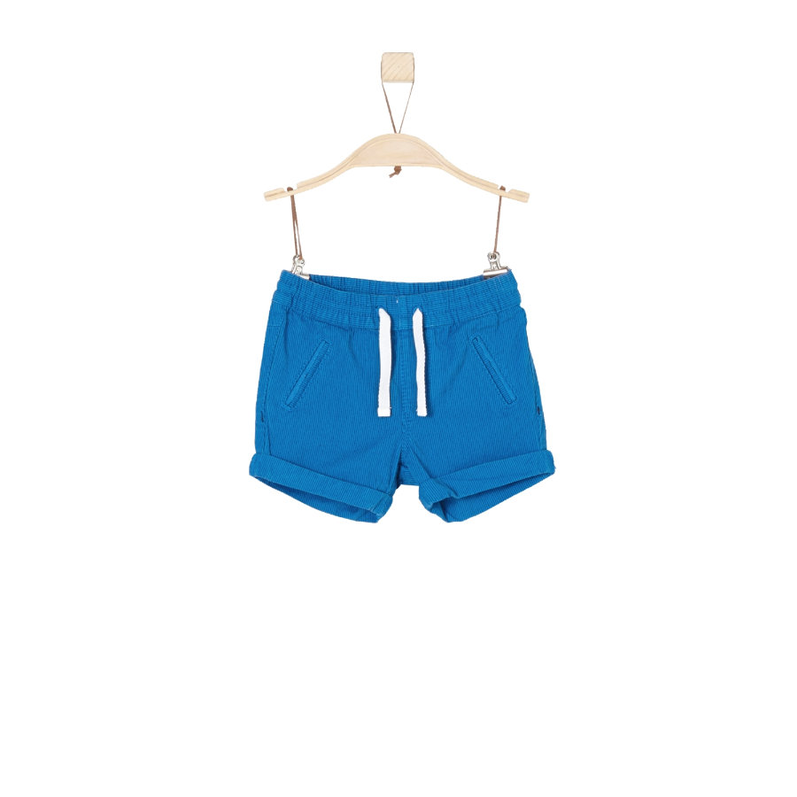s.Oliver Boys Sweatshorts niebieskie paski.