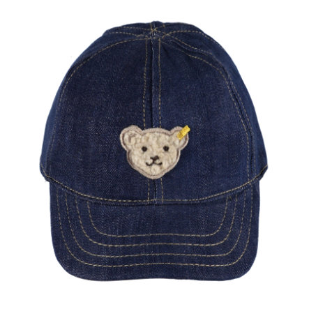 Steiff Cap blue denim