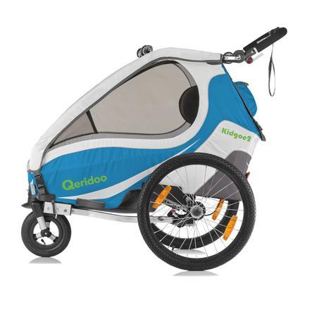Qeridoo® Rimorchio per bici Kidgoo2 2017 Giallo