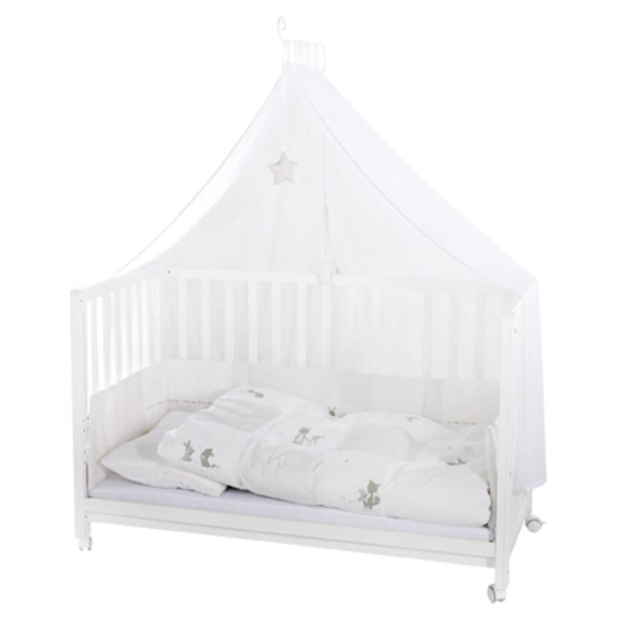 roba Łóżko dzieciece Room Bed Fox & Bunny kolor biały
