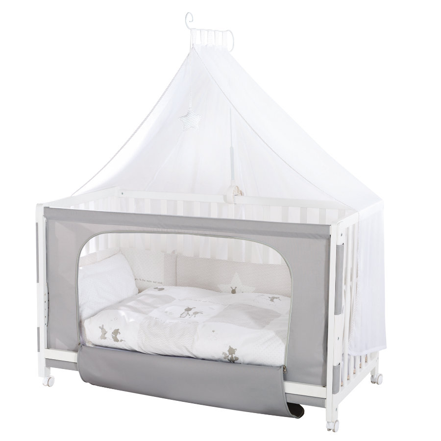 ROBA Room Bed sänky Fox & Bunny, valkoinen