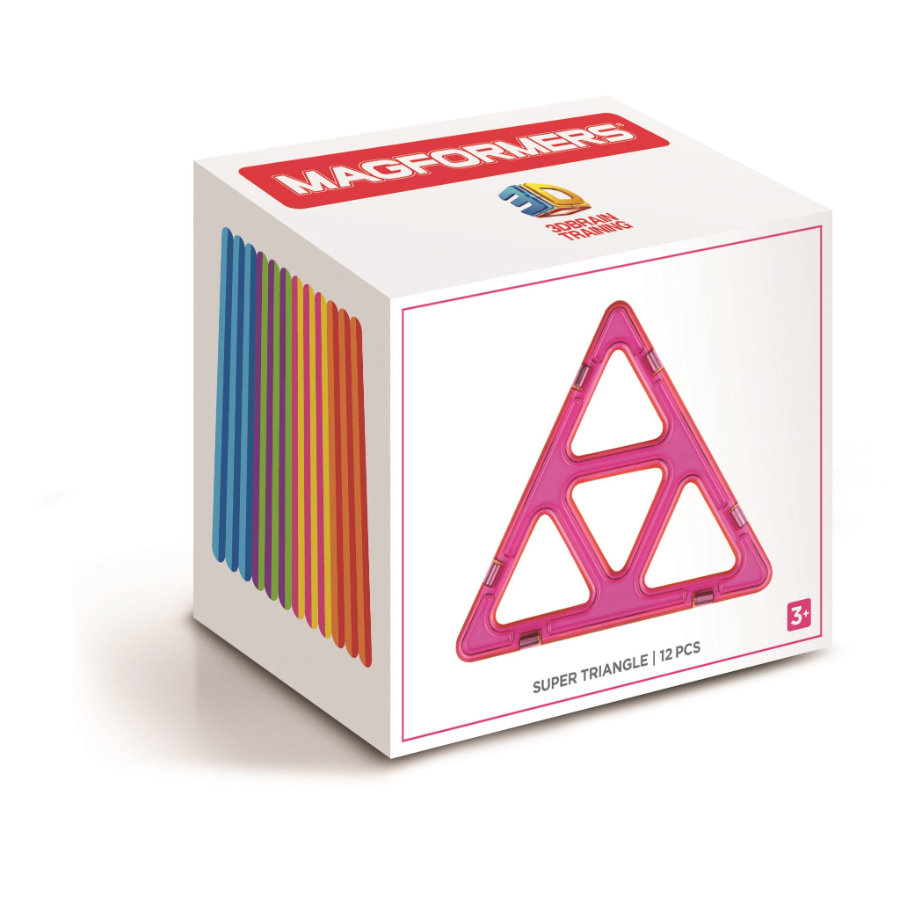 MAGFORMERS® Super Triangle 12 Set