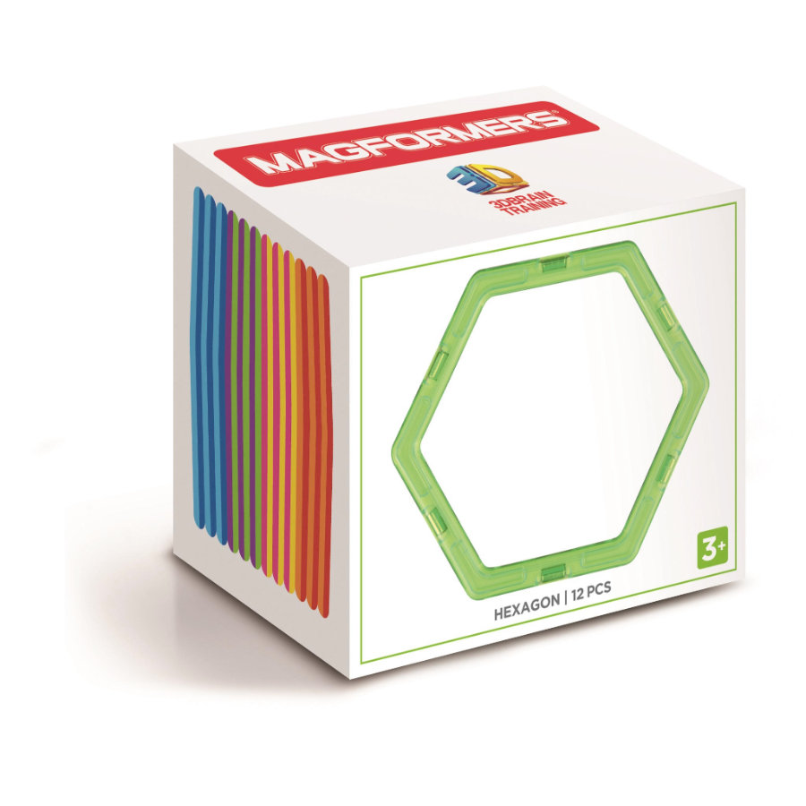 MAGFORMERS® Zestaw Hexagon Set 12