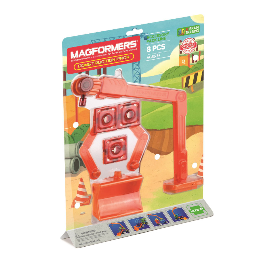 MAGFORMERS® Construction Pack 8 ks